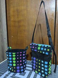 "Sugar Glider ""Bright Polka Dots"" Bonding Bag & Matching Sleeping pouch"