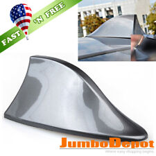 US Gray Shark Fin Style Roof Mount FM/AM Radio Signal Antenna Aerial Fit Toyota