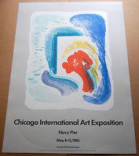 Original Poster/1985 Chicago International Art Exposition by William Tillyer