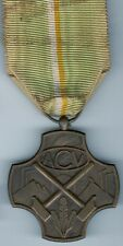 Original Belgium Cross WWI - WWII era Belgian Service Medal