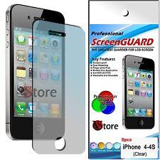 5 Pz Pellicole Per iPhone 4/4S/4G/S Proteggi Salva Schermo Display LCD Pellicola