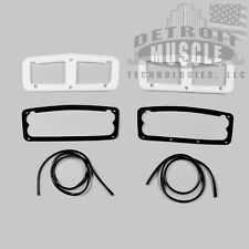 DMT Mopar 1964 64 Plymouth Belvedere Fury Savoy Taillight Gaskets WITH Trim