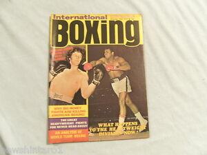 INTERNATIONAL BOXING MAGAZINE - DECEMBER 1974