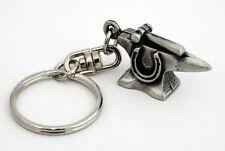 Blacksmith's Anvil Key-ring (keychain) in Fine English Pewter, (H), Keyring