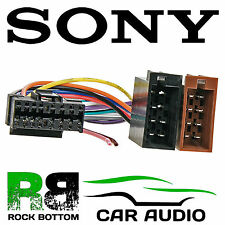 SONY CDX SERIES Car Radio Stereo 16 Pin Wiring Harness Loom ISO Connector Lead