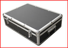 1000 CD DVD Black Aluminum Media Storage Case Mess-Free Holder Box with Sle