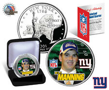 "ELI MANNING ""NY GIANTS"" NEW YORK U.S. STATEHOOD ""ROOKIE"" QUARTER/COIN W/H CASE!"