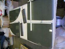 1955 CHEVROLET 2 DOOR SEDAN  6 PC. SIDE GLASS SET COMPLETE [ smoked gray ]