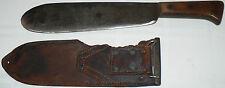 WWII USMC UNITED STATES MARINE or MEDICAL CORPS ? BOLO KNIFE & SHEATH BOYT 43
