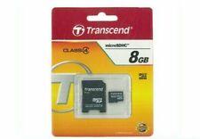 Transcend 8GB Micro SDHC Memory Adapter Brand New Sealed Sandisk Kingston