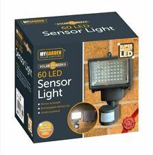 60 LED SOLAR PIR MOTION SENSOR SECURITY SPOTLIGHT GARAGE GARDEN SHED LIGHT
