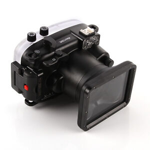 40m Waterproof Diving Underwater Housing Case For Fuji X-A1 Camera & 16-50 Lens