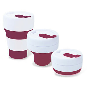 450ml Collapsible And Reusable Pop Cup   For Hot & Cold Drinks