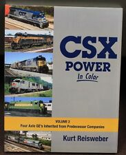 MORNING SUN BOOKS - CSX POWER In Color Volume 2 - HC - 128 Pages All Color