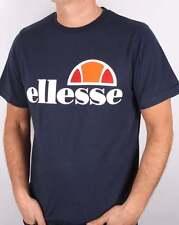 Ellesse Logo T Shirt in Navy Blue - Prado Court Quattro Manarola Exhibition