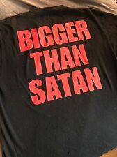 "Marilyn Manson ""BIGGER THAN SATAN"" T-Shirt Fear Of God Justin Bieber"