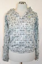 Fenchurch Almond Camera Print Shower Proof Jacket Size: XS