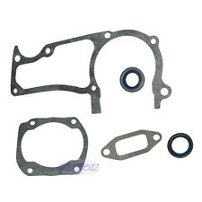 New Cylinder Muffler Crankcase Gasket Kit For HUSQVARNA 362 365 371 372 Jonsered