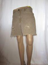 WRANGLER Vtg Womens Shorts Hand Custom Distress High Waist Hot Pants W31 AF22