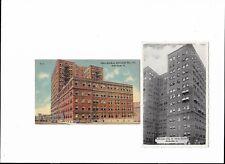 2 Vintage Postcards: Bethlehem Steel Office Building