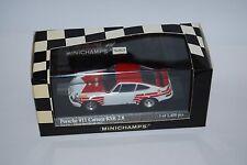MINICHAMPS PORSCHE 911 RSR 2.8 PAUL RICARD 72 430726990 NEUF/BOITE NEW/BOX 1/43