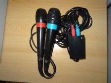 Mandos micrófonos Sony para consolas de videojuegos