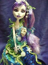 Lorelei ooak monster high doll mermaid  handmade custom doll repaint