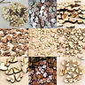 100x Romantic Rustic Wooden Love Heart Wedding Table Scatter Decoration Craft UK