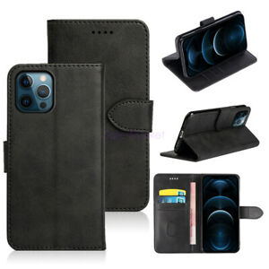Case For iPhone 12 Mini 12 Pro Max Phone Hybrid Leather Flip Card Wallet Cover
