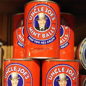 Uncle Joe's Mint Balls Tins - 3 x 120g Tins