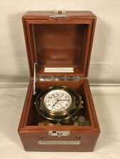 Vintage 1940s Hamilton Model 22 Chronometer Inner & Outer Cases & Movement
