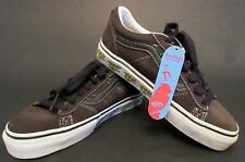 "Boys Vans ""La Cripta Dos""  Brown Suede Sneakers Shoes US 4.5 New No Box"
