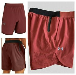NWT $60 Under Armour Stretch Woven Men's Sz Large Shorts
