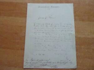 Brief des Schach-Club Nürnberg 1883 an Fritz Riemann (?) wegen Kongreß