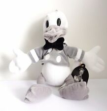 """Disney Parks Black And White Donald Small Plush from Tokyo Disneyland 11"""""""