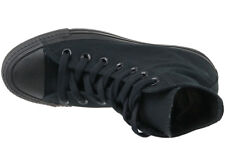 Converse Chuck Taylor All Star Hi Shoes Black Mono M3310c High Top Trainers 4