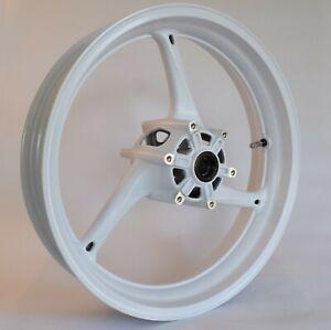 NEW GLOSS WHITE Front Wheel Suzuki GSXR 600 GSX-R 750 2011-2021 Rim