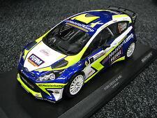 Minichamps Ford Fiesta WRC 2016 1:18 #1 Kuipers / Poel Zuiderzee Rally (MCC)