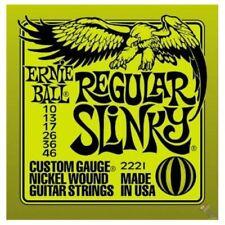 Cuerdas verdes para guitarras y bajos