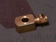 Panhead Shovelhead Rear Brake Cylinder Swivel fitting. USA Made. 63 - 72