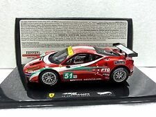 Ferrari 458 ITALIA GT2 LM 2011 - AF CORSE Hotwheels Model 1/43 #X5497