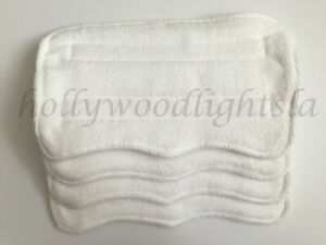 4X Mop pads REFILLs fits SWIFFER WET JET Washable Reusable Absorbent MICROFIBER