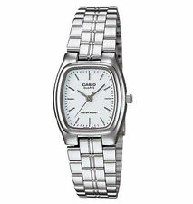 Casio Rectangle Silver Band Wristwatches