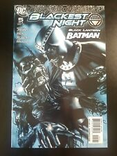 BLACKEST NIGHT #5 ROLDOFO MIGLIARI VARIANT BLACK LANTERN BATMAN 2010
