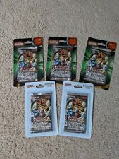 Lot of (5) Yugioh Metal Raiders Legacy/Legendary Blister Booster Packs + Cards