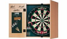 Unicorn Original Professional Dartboard with Score Panel Cabinet & 2 Set Darts