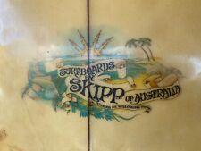 SURF BOARD VINTAGE SKIPP SINGLE FIN