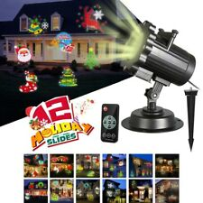Christmas Halloween Holiday LED Laser Light Projector House Landscape Lamp Party
