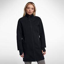 578ef280 Nike Sportswear Tech флис водоотталкивающий куртка женские 884429-010  размер средний