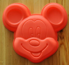 2pcs Mickey Mouse Cake Mold Flexible Silicone Cookie Mold Chocolate Mould